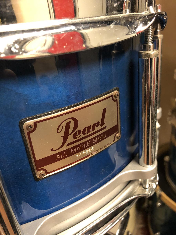PEARL PEARL STUDIO BIRCH SHELL 6 PEZZI + rack .
