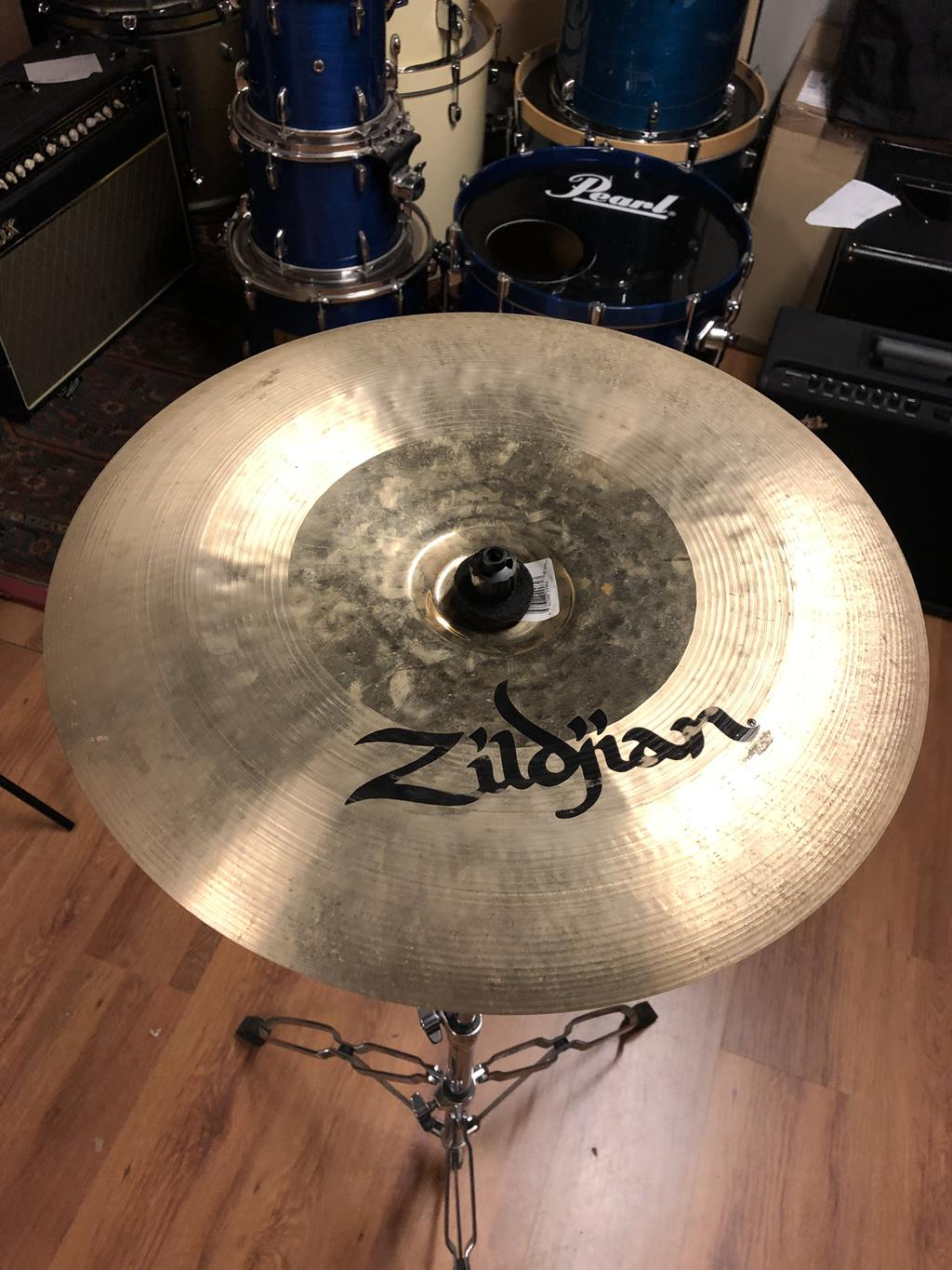 ZILDJIAN K CUSTOM HYBRID CHINA 17 ..