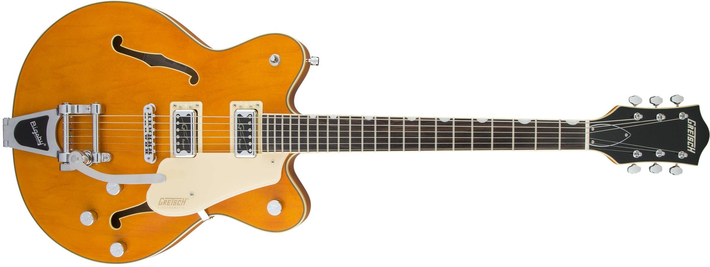 GRETSCH G5622T Electromatic Center Block - Double-Cut with Bigsby RW Vintage Orange 2509300520