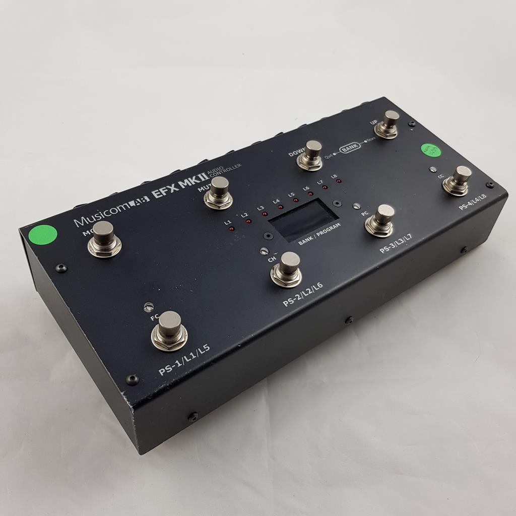 MUSICOMLAB EVX MKII PEDAL SWITCHER CONTROLLER ..