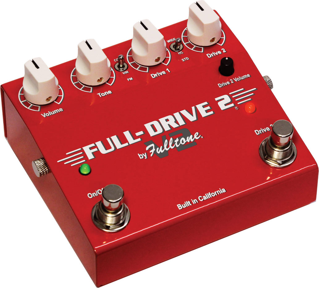 FULLTONE FULLDRIVE 2 V2 OVERDRIVE  NUOVO MODELLO - Chitarre Effetti - Overdrive