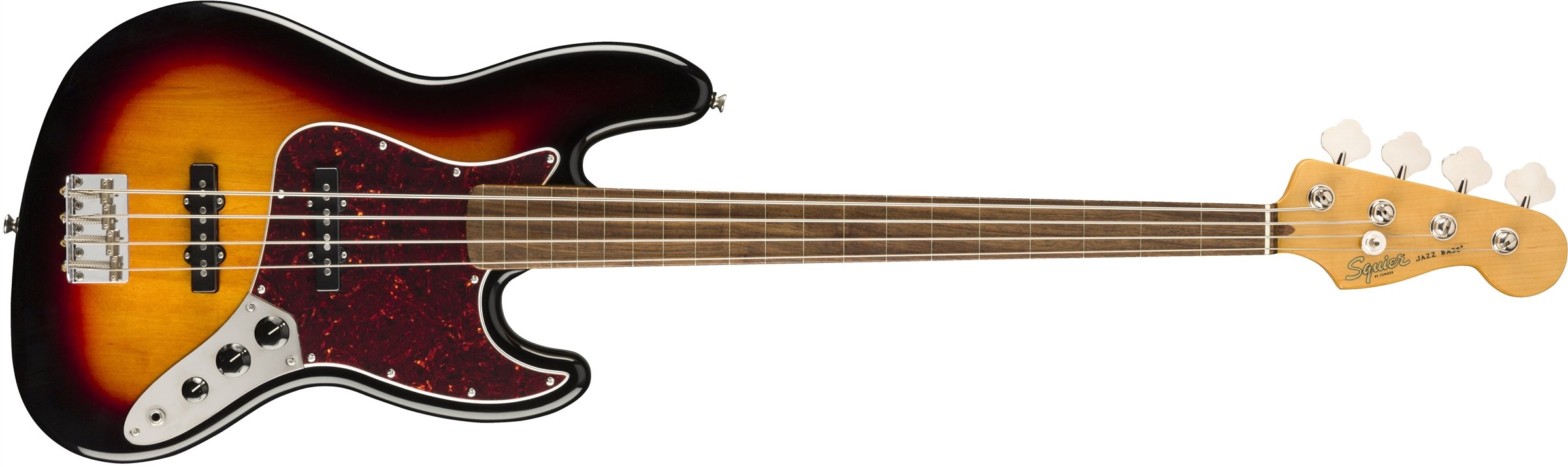 SQUIER Classic Vibe 60s Jazz Bass FR Fretless LF  3-Color Sunburst 0374531500