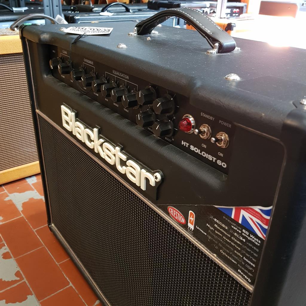 BLACKSTAR >> HT 60 SOLOIST - Chitarre Amplificatori - Combo