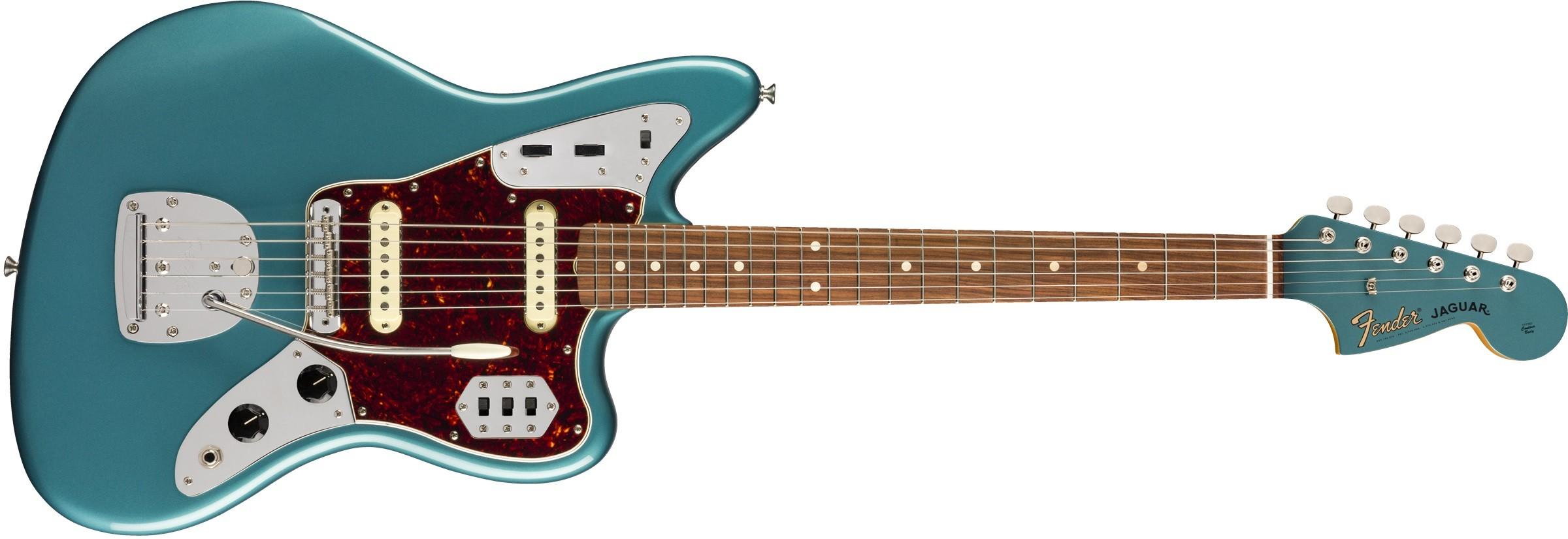 FENDER Vintera 60s Jaguar PF-  Ocean Turquoise  0149773308