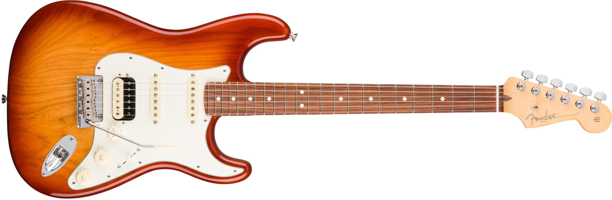 FENDER American Pro Stratocaster HSS ShawBucker RW Sienna Sunburst 0113040747