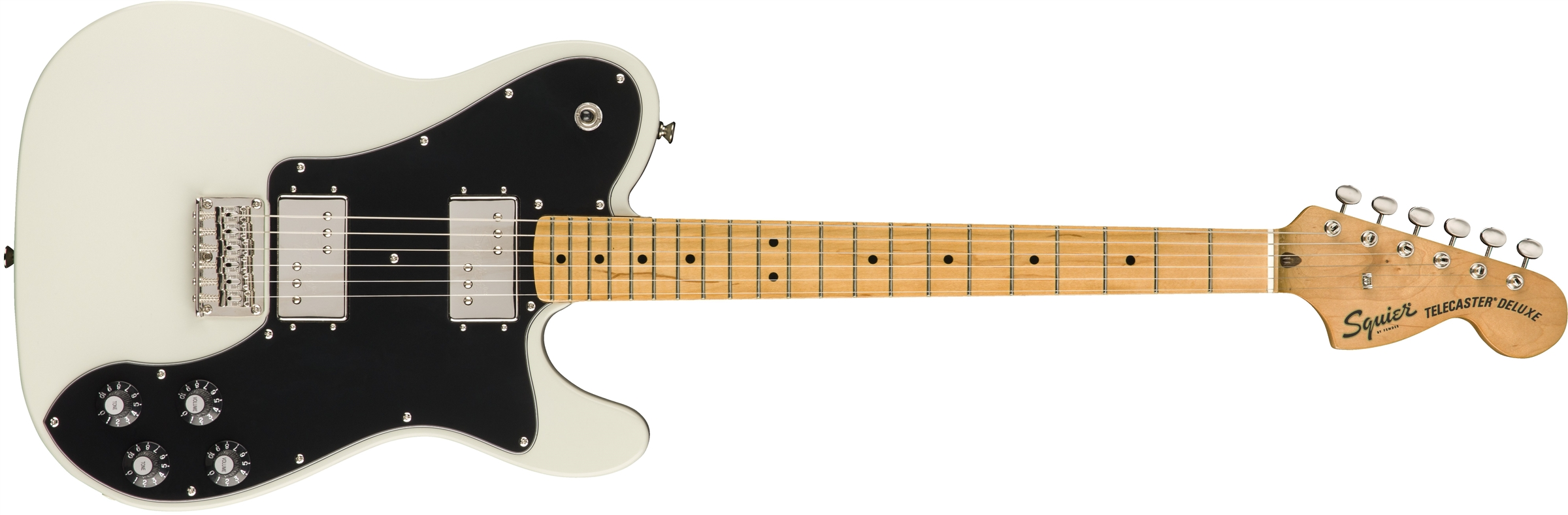 SQUIER Classic Vibe Telecaster Deluxe MN Olympic White  0374060505