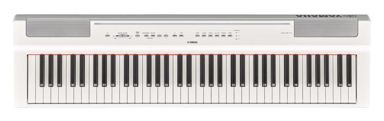 YAMAHA-P121WH-STAGE-PIANO-WHITE-sku-23694