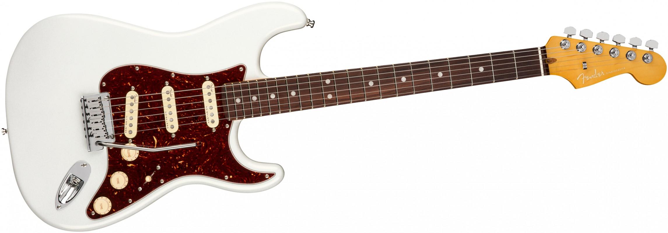 FENDER-American-Ultra-Stratocaster-RW-Arctic-Pearl-0118010781-sku-23907