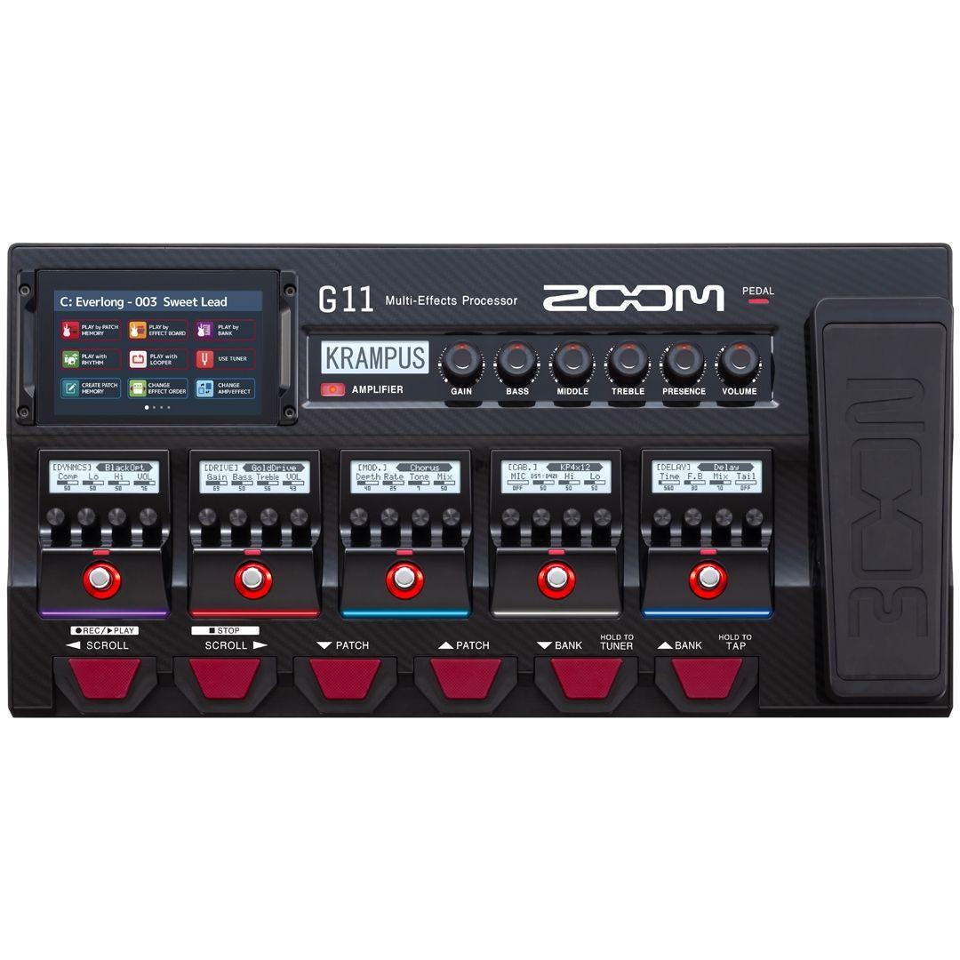 ZOOM-G11-pedaliera-multieffetto-amp-simulator-sku-23945