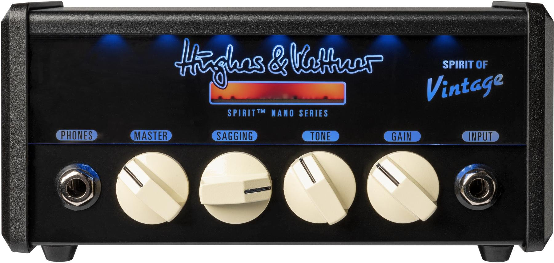 HUGHES & KETTNER SPIRIT NANO HEAD - SPIRIT OF VINTAGE - Chitarre Amplificatori - Testate