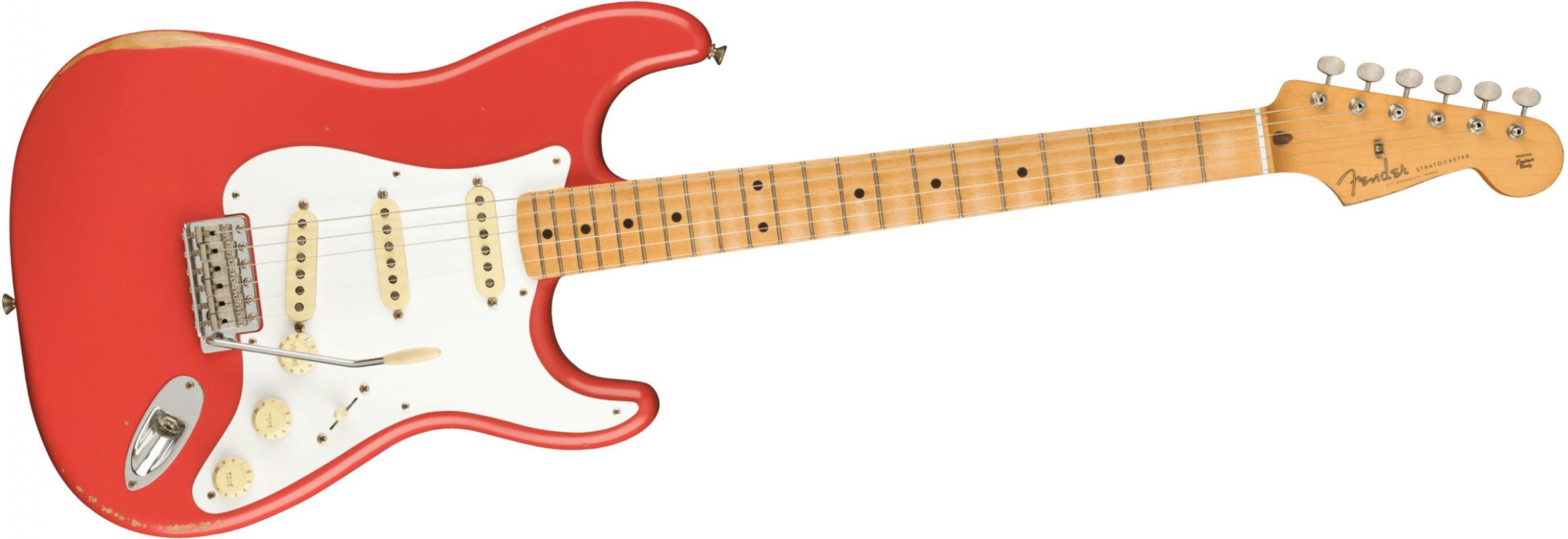 FENDER-Vintera-Road-Worn-50s-Stratocaster-MN-Fiesta-Red-0149972340-sku-24196