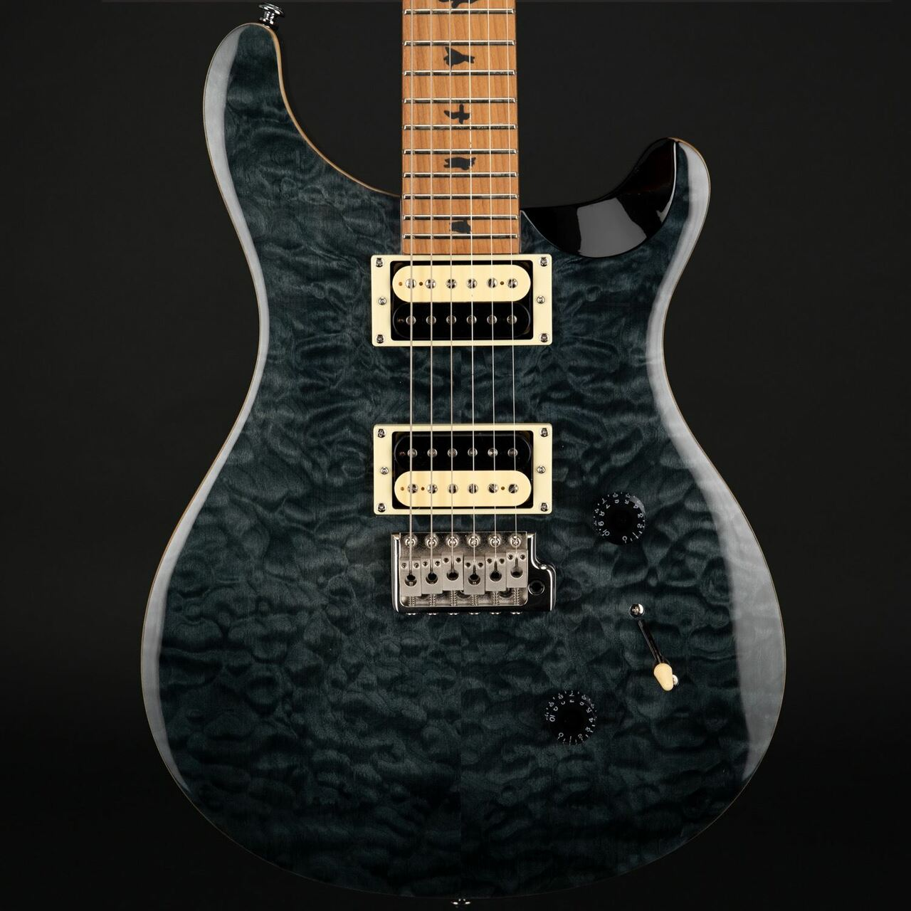 PRS-PAUL-REED-SMITH-SE-Custom-24-Vintage-MN-ACERO-Limited-Gray-Black-sku-24241