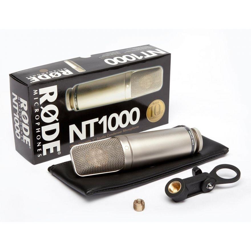 RODE NT1000 CONDENSATORE - Voce - Audio Microfoni - Microfoni da Studio