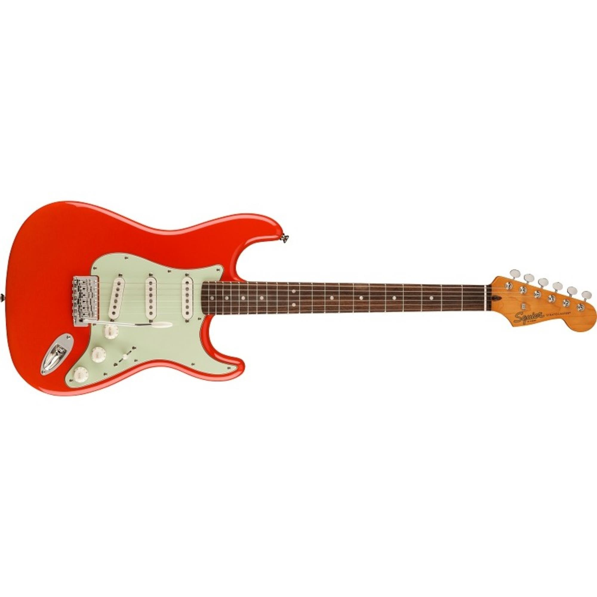 SQUIER-FSR-Classic-Vibe-60s-Stratocaster-LF-Mint-Pickguard-Fiesta-Red-LIMITED-EDITION-0374011540-sku-24485