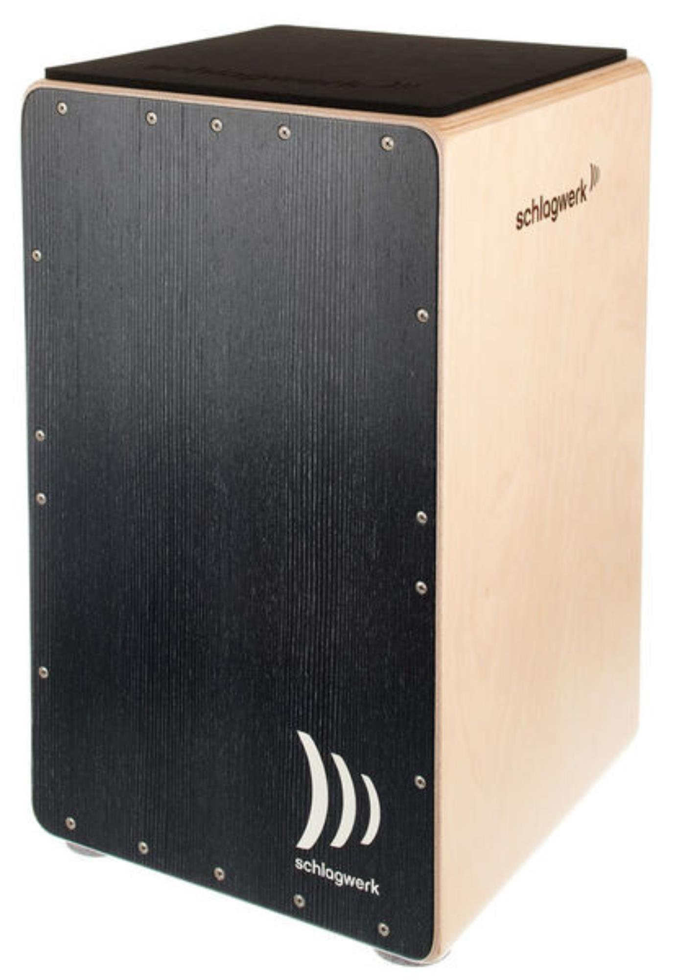 SCHLAGWERK-CP5003-CAJON-PRECISE-OS-BLACK-SILVER-sku-24545