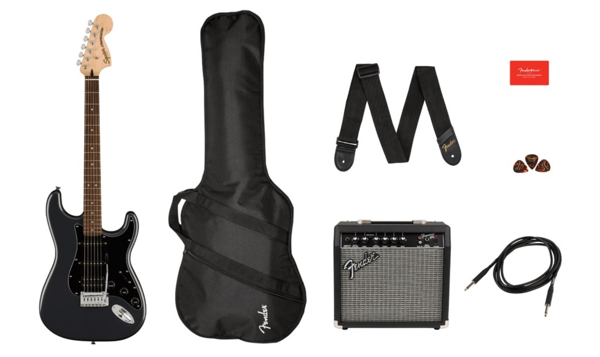 SQUIER-AFFINITY-STRATOCASTER-PACK-SET-HSS-LRL-Charcoal-Frost-Metallic-0372821669-sku-24705
