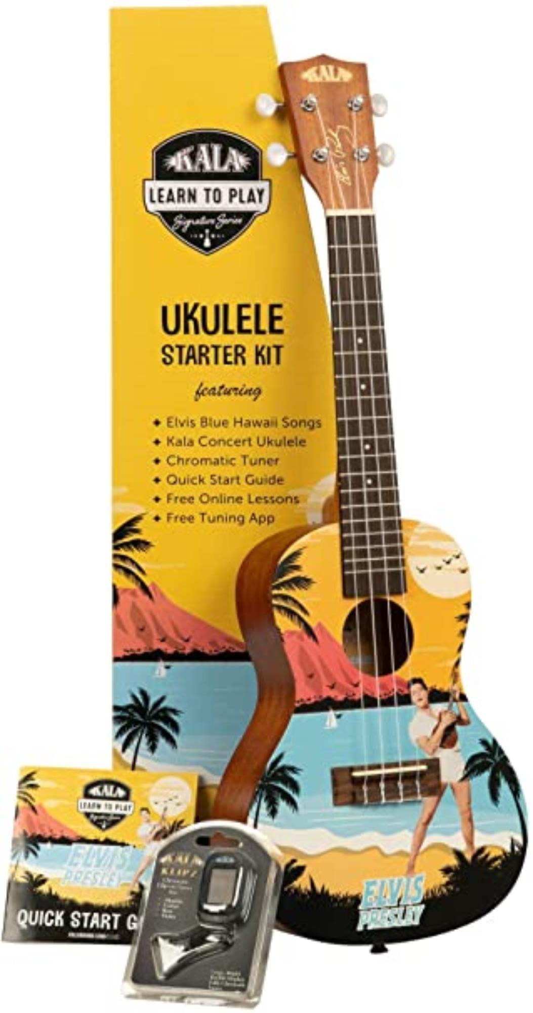KALA-UKULELE-CONCERTO-ELVIS-BLUE-HAWAII-tuner-sku-24714