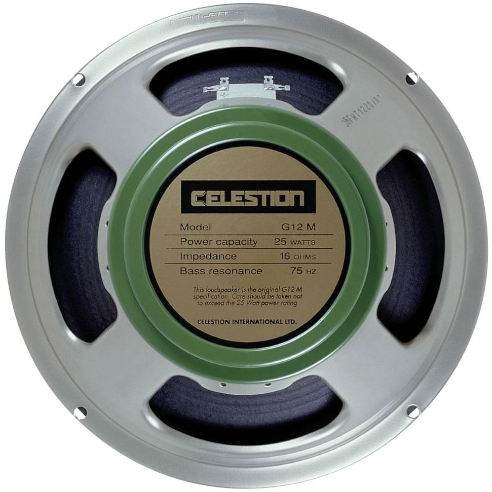 CELESTION G12M GREENBACK 12 16 OHM - Chitarre Amplificatori - Coni