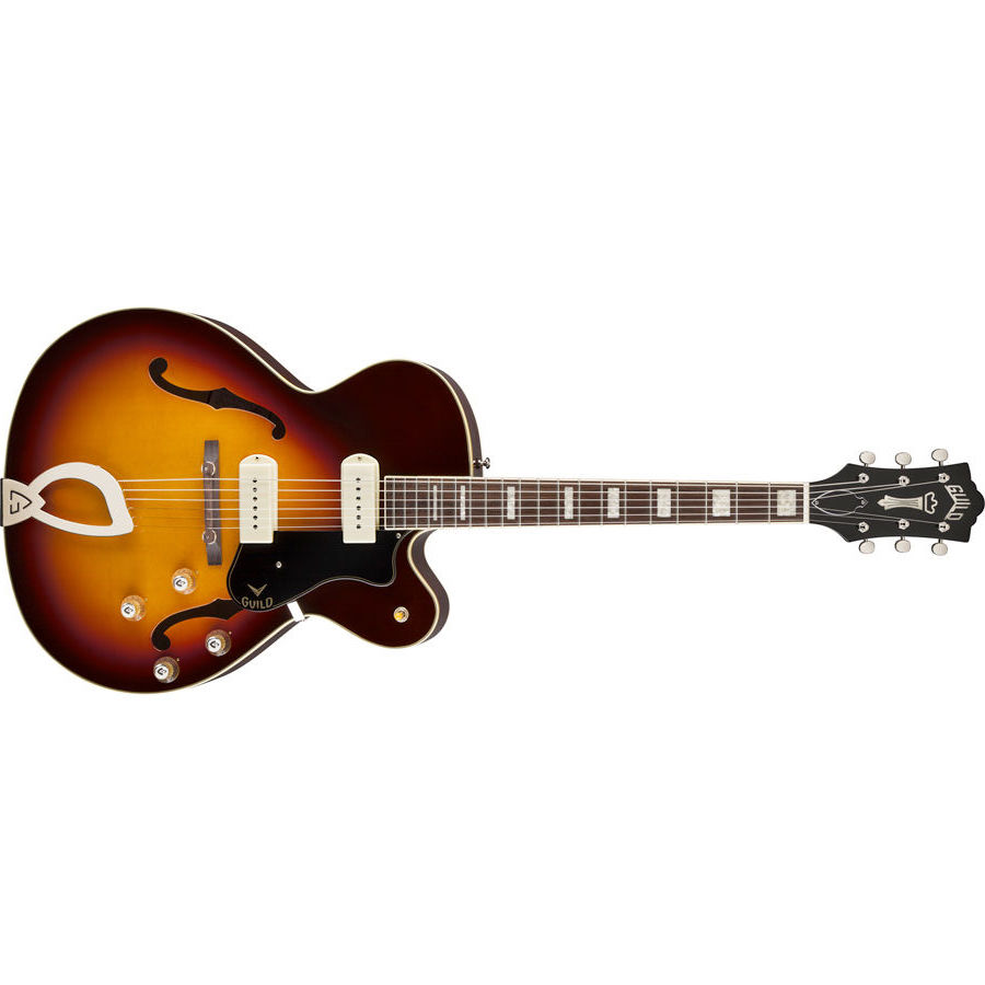GUILD X-175 MANHATTAN ANTIQUE BURST - 3795000837 - Chitarre Chitarre - Elettriche