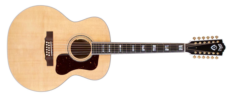 GUILD F-512E Maple 12 Strings Blonde Nitro - 3853664801