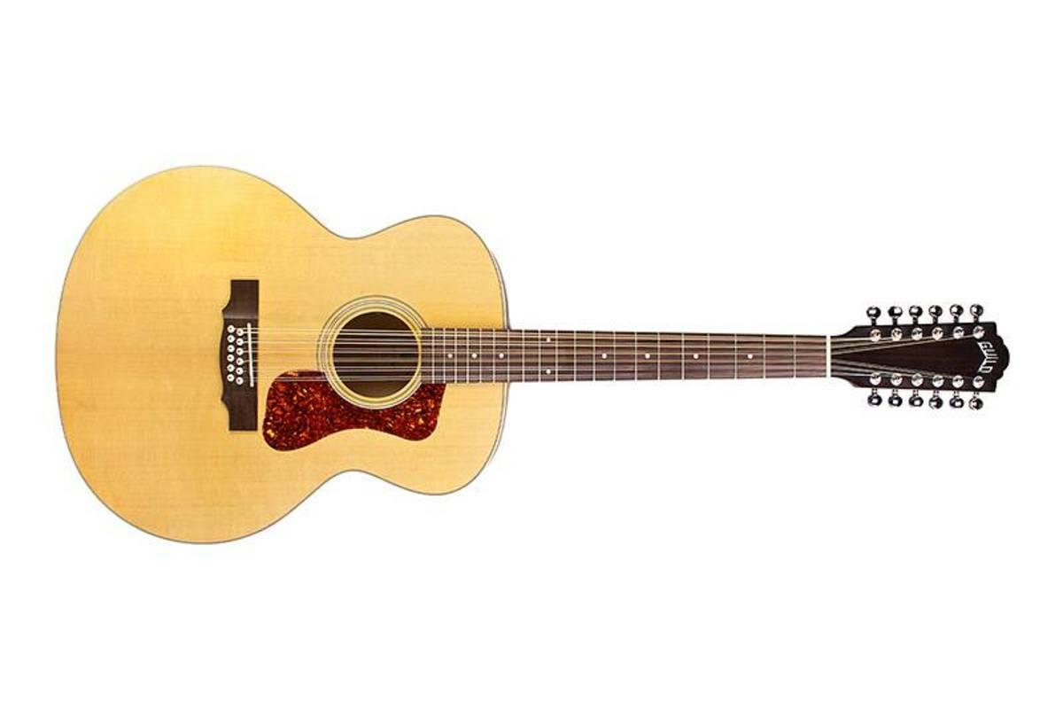 GUILD F2512E Maple 12string Blonde Satin - 3833614921