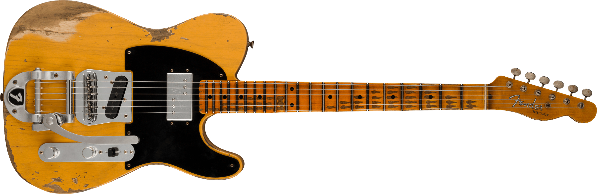 FENDER-Limited-Edition-51-HS-Telecaster-Heavy-Relic-Maple-Fingerboard-Aged-Butterscotch-Blonde-sku-571005341
