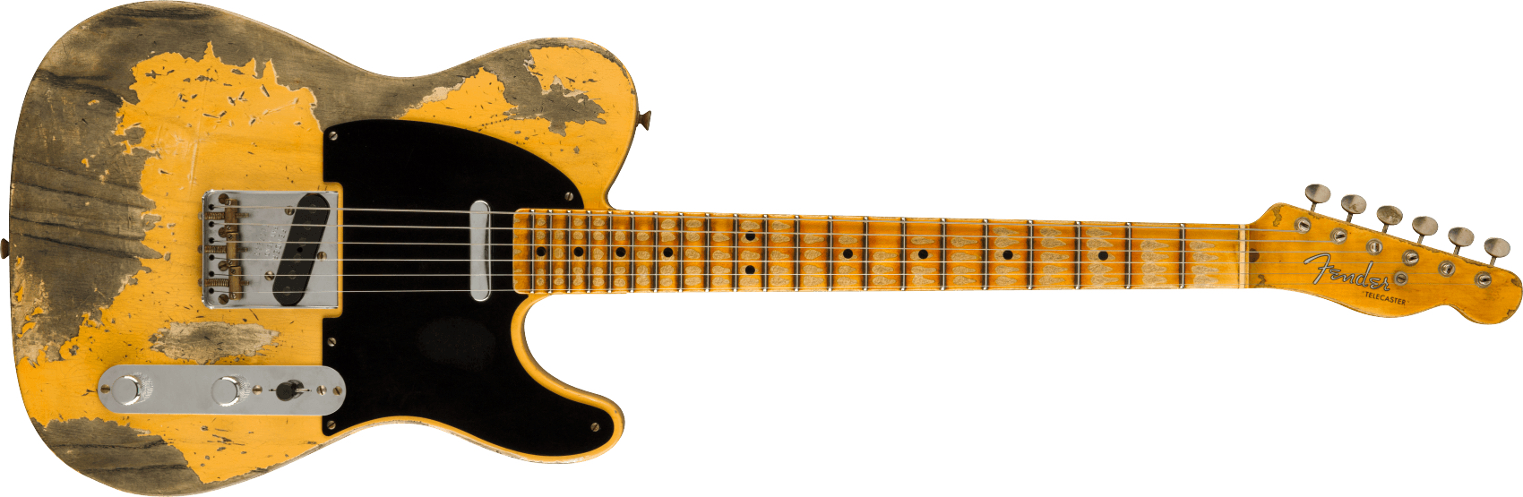 FENDER-Limited-Edition-51-Telecaster-Heavy-Relic-Maple-Fingerboard-Aged-Nocaster-Blonde-sku-571005347