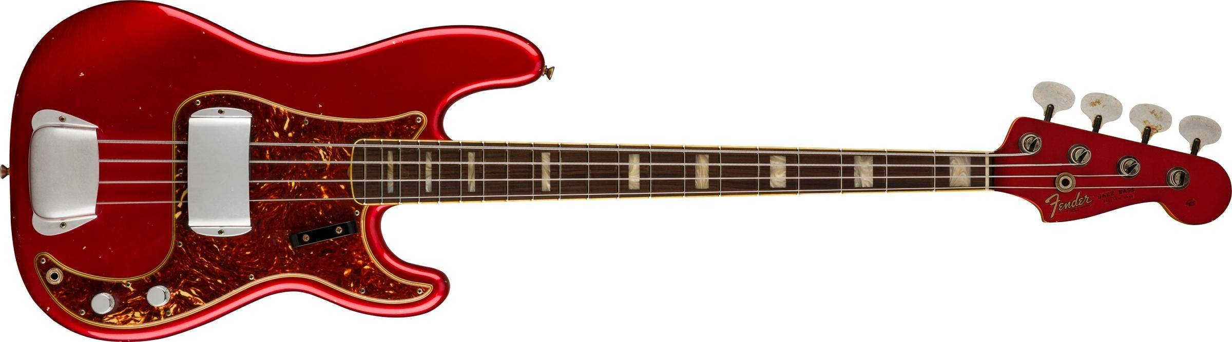 FENDER-Limited-Edition-P-J-Bass-Journeyman-Relic-Rosewood-Fingerboard-Aged-Candy-Apple-Red-sku-571005364