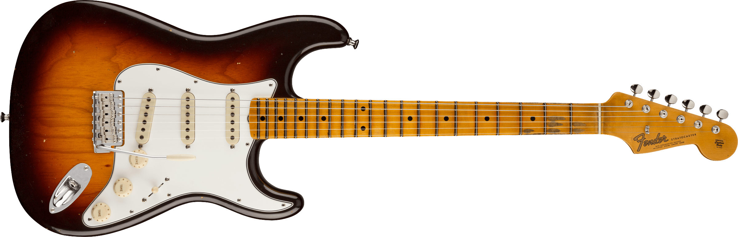 FENDER-Postmodern-Stratocaster-Journeyman-Relic-with-Closet-Classic-Hardware-Maple-Fingerboard-Wide-Fade-Chocolate-2-Color-Sunburst-sku-571005413