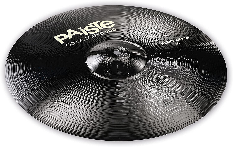 PAISTE-900CS-BKCC16-Paiste-900-Color-Sound-Crash-16-Black-sku-610005124