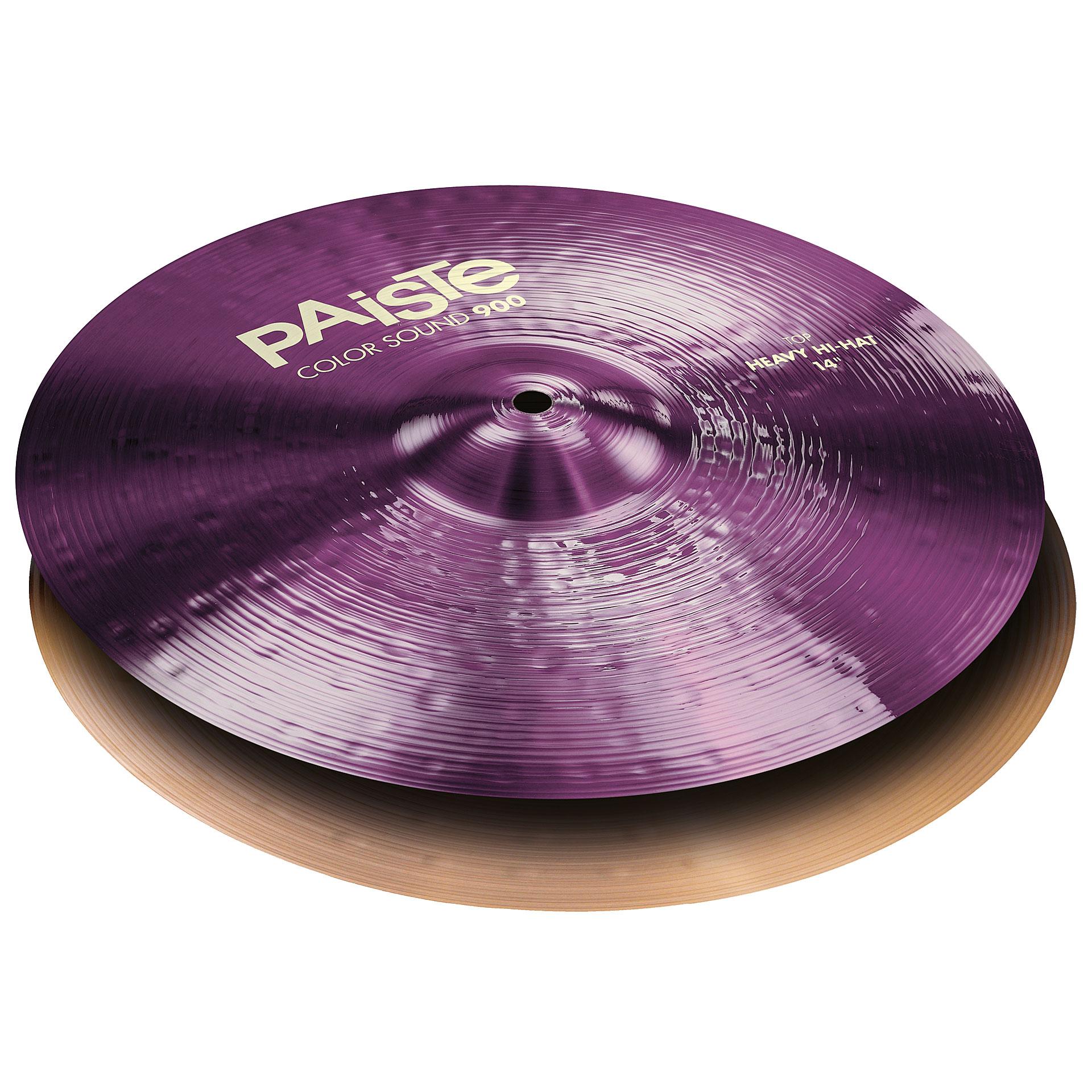 PAISTE-900CS-PUHHH14-Paiste-900-Color-Sound-Heavy-Hi-Hat-14-Purple-sku-610005183