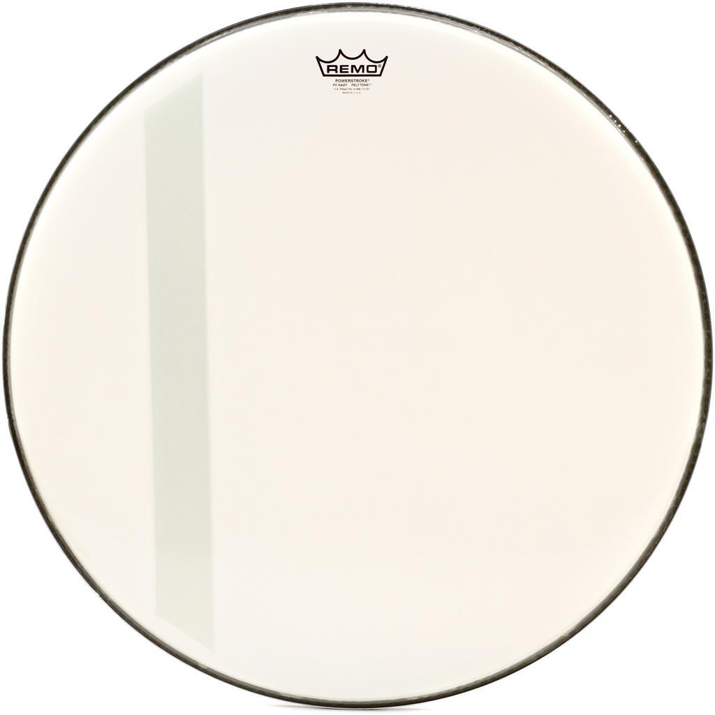 REMO P3-1126-00-FLT - Remo - Pelle Powerstroke3 Sabbiata - FELT TONE - Cassa 26