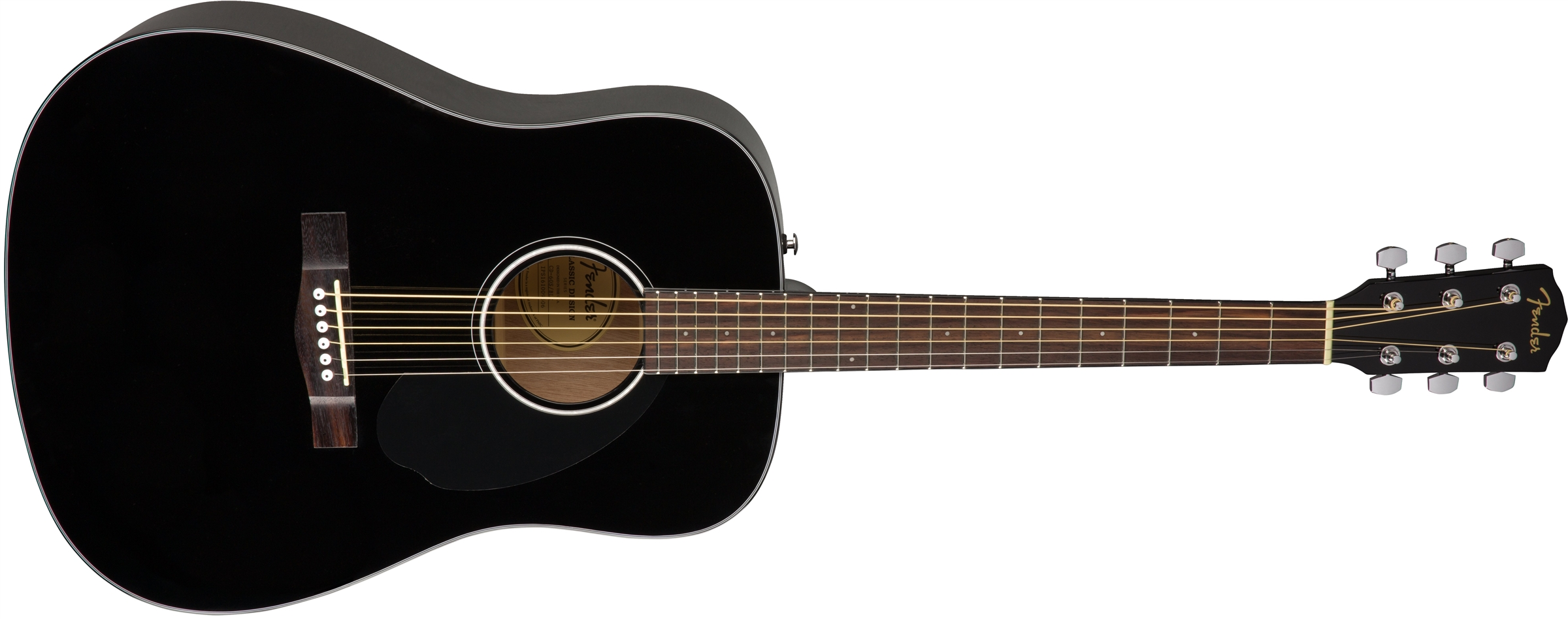 FENDER CD 60 S ACUSTICA BLACK - 0970110006