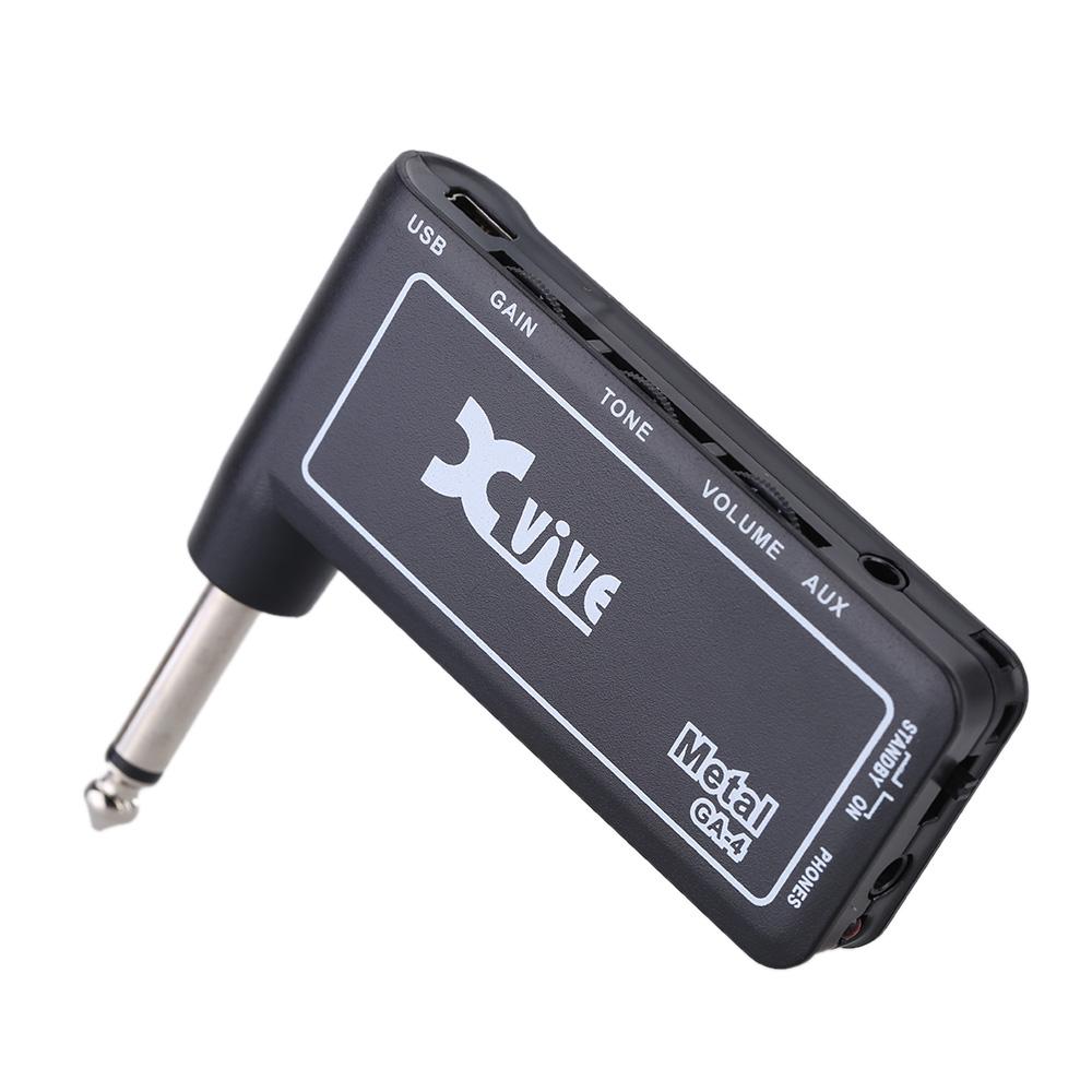 Xvive-GA-4-Metal-Amplificatore-per-cuffia-da-chitarra-sku-7340250138003