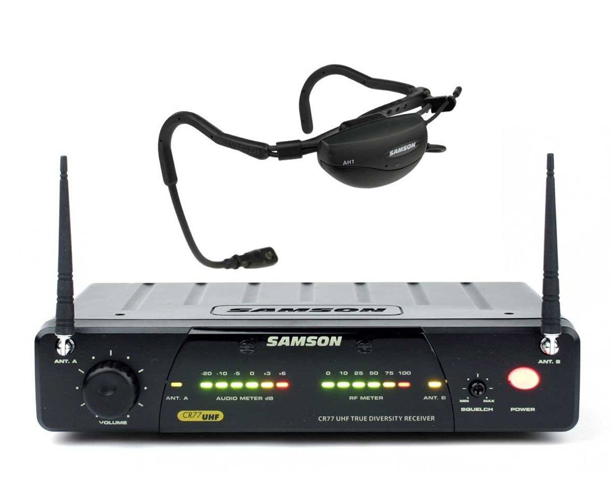 Samson AIRLINE 77 UHF Aerobics Headset System - E1 (863.125 MHz)