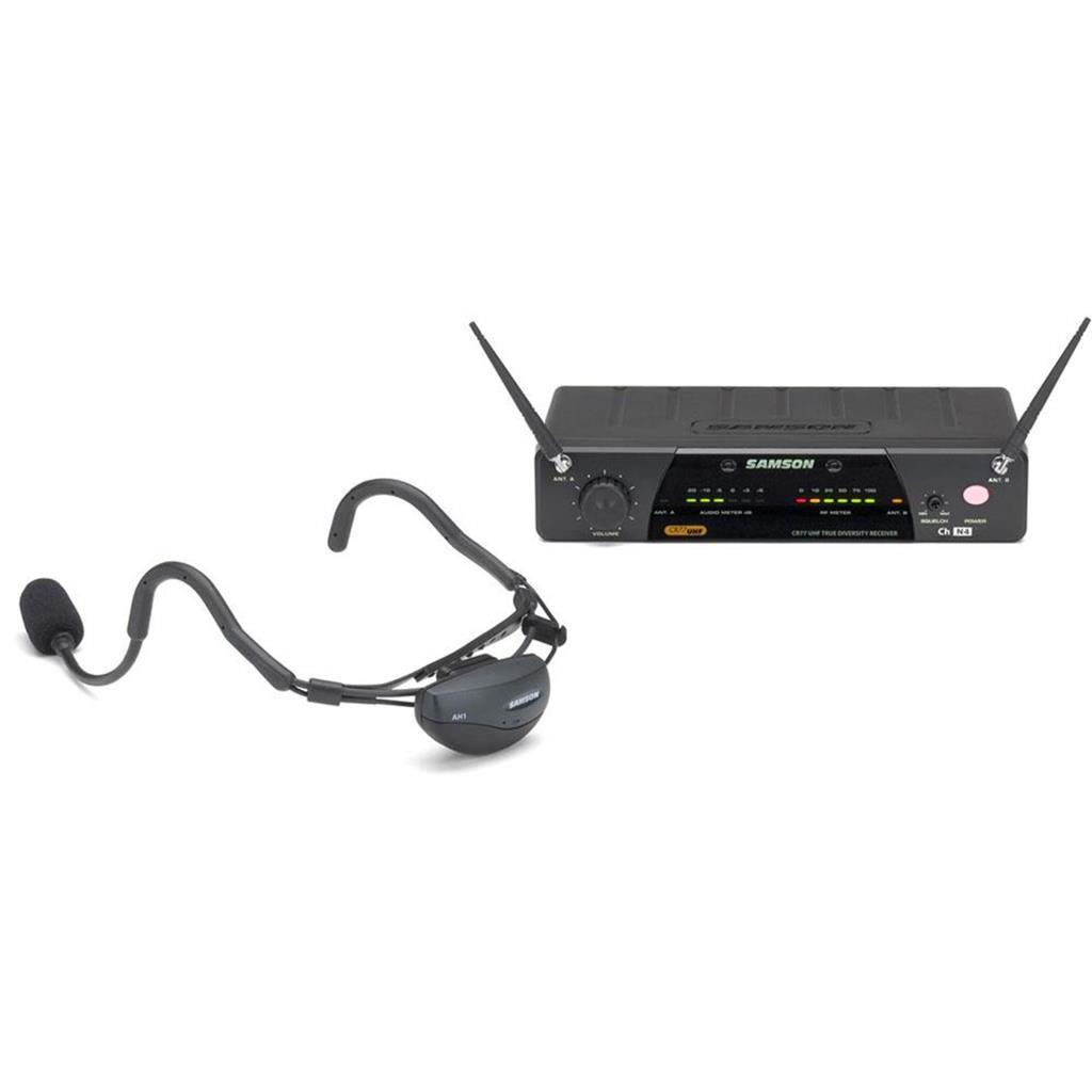 Samson AIRLINE 77 UHF Vocal Headset System - E1 (863.125 MHz)