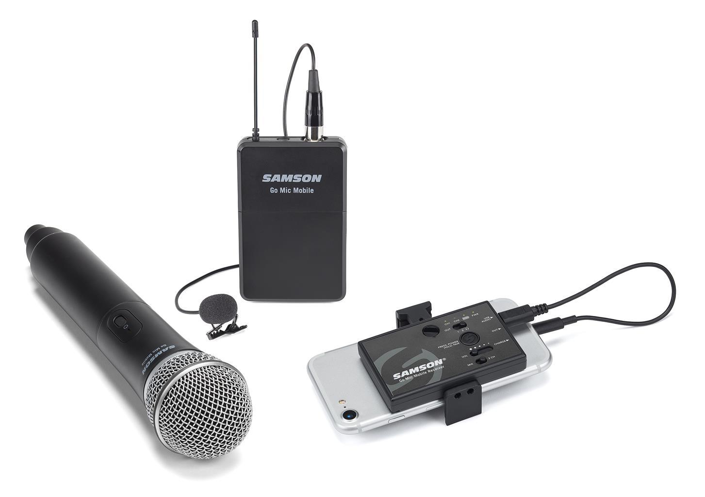 Samson-GMM-Microfono-palmare-con-trasmettitore-integrato-per-Go-Mic-Mobile-sku-7649298641004