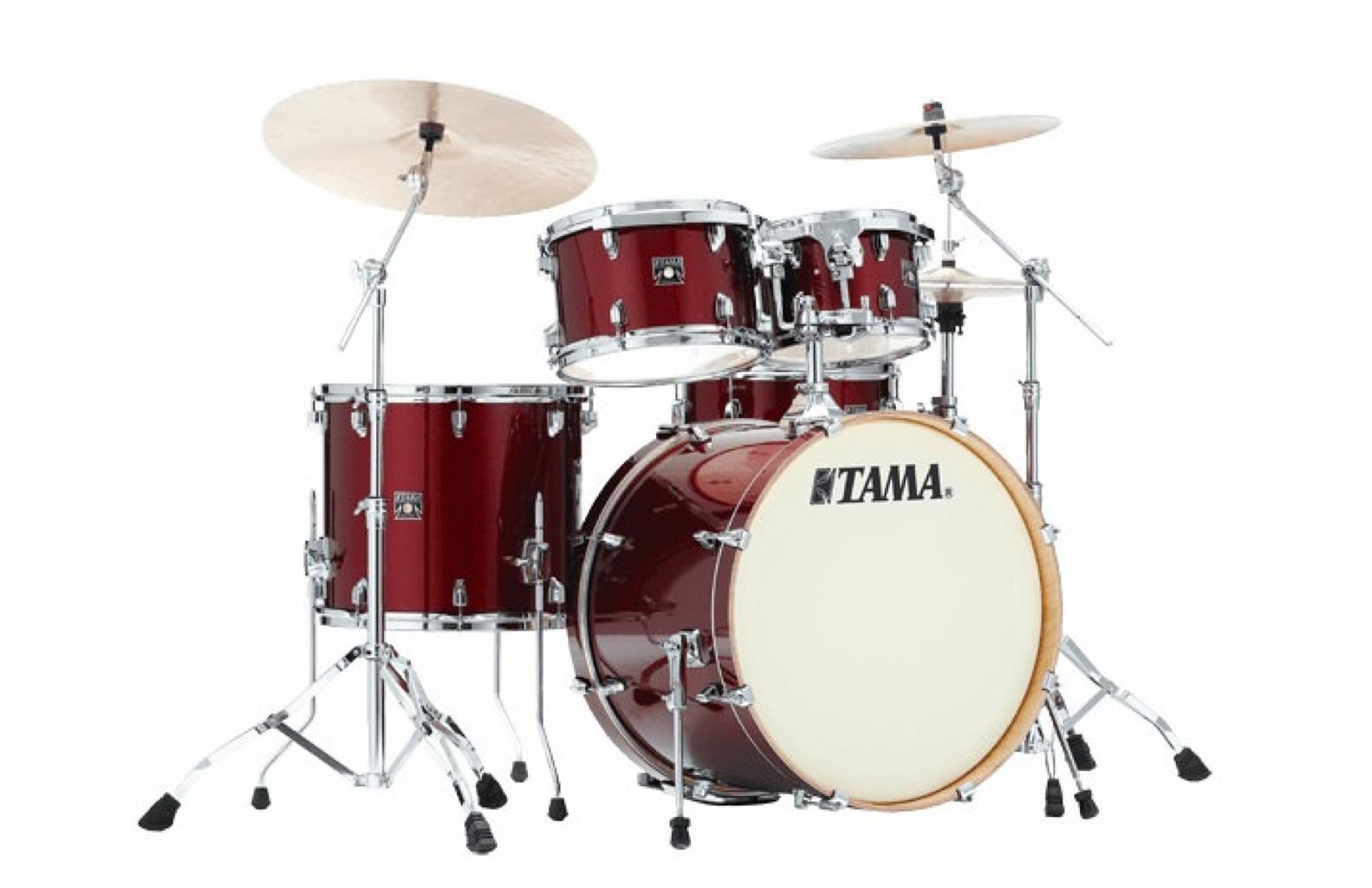 Tama CK52KRS-DRP - shell kit - finitura Dark Red Sparkle