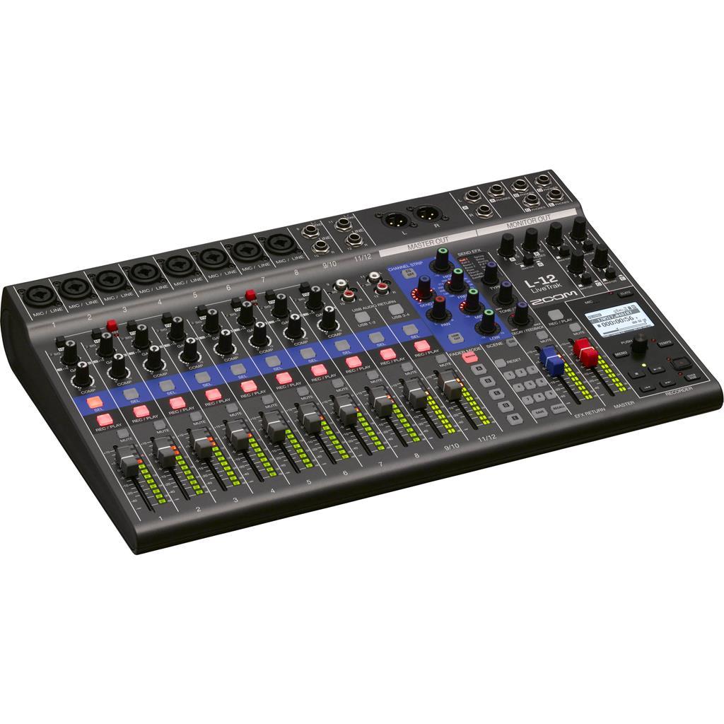 Zoom L-12 - Mixer digitale 12 canali. recorder e interfaccia audio