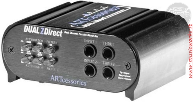 ART DUAL Z DIRECT 2 CH DIRECT BOX