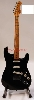 FENDER CUSTOM SHOP DAVID GILMOUR RELIC BLACK STRATOCASTER - 0150069806