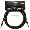 FENDER CUSTOM SHOP CABLE CAVO TWEED 20FT 6M BKT - 0990820052