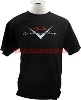 FENDER CUSTOM SHOP READY T SHIRT XXL BLACK  - 9101002806