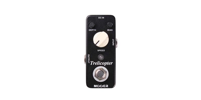 MOOER TRELICOPTER - OPTICAL TREMOLO - Chitarre Effetti - Tremolo e Vibe