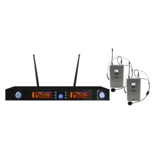 Karma SET 7822LAV - Doppio Radiomicrofono UHF