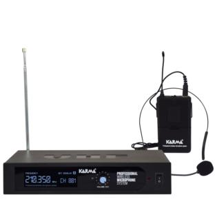 Karma SET 6250LAV-A - Radiomicrofono VHF ad archetto