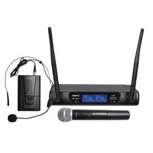 Karma SET 6092PL-B - Doppio radiomicrofono VHF -